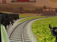 Zombies Train Attack : 3D FPS 1.4 Screenshot