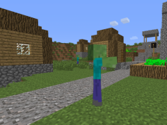 Review Screenshot - Minecraft Wallpaper – Bring Zombies to Your Phone's Home Screen