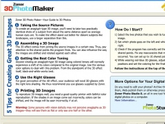 Zoner 3D Photo Maker 1.0 Screenshot