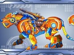 Zoo Robot:Tiger 1.2 Screenshot