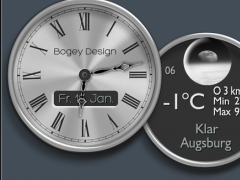 Zooper Widget ChromeRingsColor 2.41 Screenshot