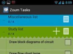 Zoum Tasks 3.1.1 Screenshot