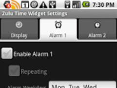 Zulu Time Desktop Widget 1.1.0 Screenshot