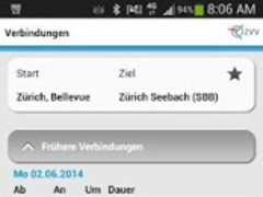 ZVV-Timetable  Screenshot
